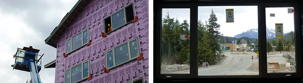 EuroLine Windows at UAS-Freshman Residence Hall