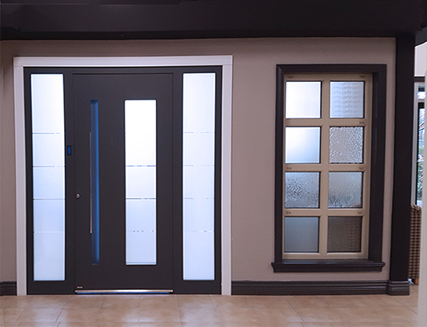 EuroLine's windows & doors showroom