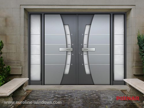 Entry doors euroline windows inc for High end exterior doors